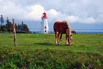 Prince Edward Island - Lighthouse on Panmure Island