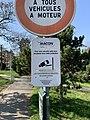 Panneau Vidéoprotection Rue Monet Goyon - Mâcon (FR71) - 2021-03-01 - 2.jpg