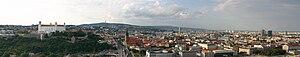 Panorama-bratislava