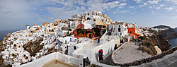 Panoramic view of Oia, Santorini island (Thira), Greece.jpg