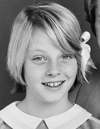 Child actor - Jodie Foster in 1974