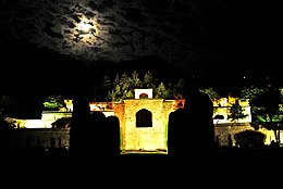 Pari Mahal at night