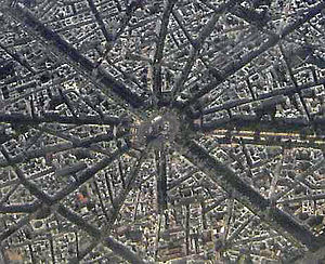 16th arrondissement of Paris - the Place de l'Étoile