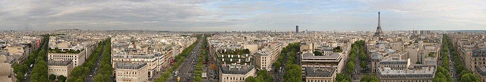 Panorama Pariza