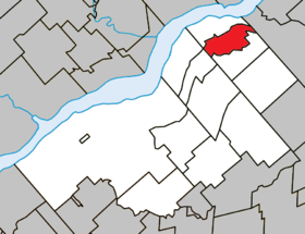 Parisville Quebec location diagram.png
