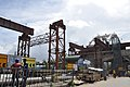 Park Circus-Parama Flyover under Construction - Railway Overbridge 4 - Park Circus - Kolkata 2015-07-23 0844.JPG