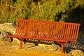 Park bench in York, Western Australia (4525137930).jpg