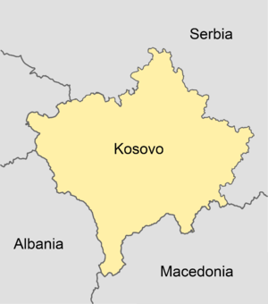 Partition of Kosovo - Hypothetical partition, with North Kosovo ceded to Serbia.