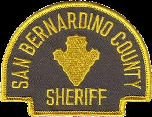 San Bernardino County Sheriff's Department - Image: Patch of the San Bernardino County Sheriff Coroner's Department