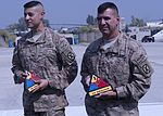 Patriot 6, 7 recognize TF Dragon for outstanding support 131005-Z-HL120-001.jpg