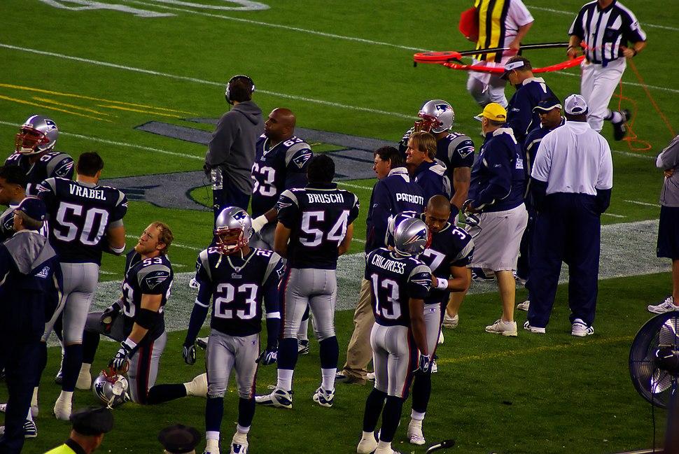 Patriots preseason 2007