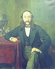 Paul Reuter  aged 53 years (1869)  by Rudolf Lehmann