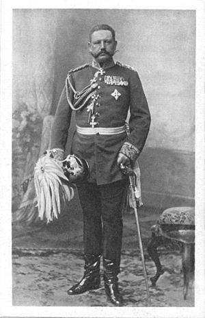 Hindenburg as a major general of the General Staff in 1897 Paul von Hindenbug als Generalmajor im Generalstab 1897.JPG