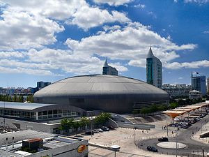 Eurovision Song Contest 2018 - The venue of the contest, Altice Arena in Lisbon, Portugal