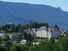 Vue du pavillon Sainte-Hélène du centre hospitalier de Chambéry