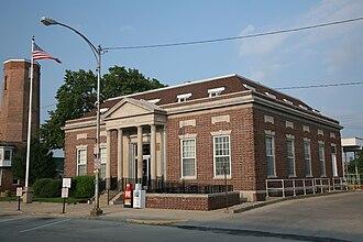 Paxton, Illinois - Paxton, Illinois post office.