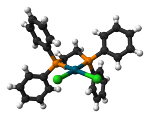 1,2-Bis(diphenylphosphino)ethane - Image: Pd Cl 2(dppe) 3D balls