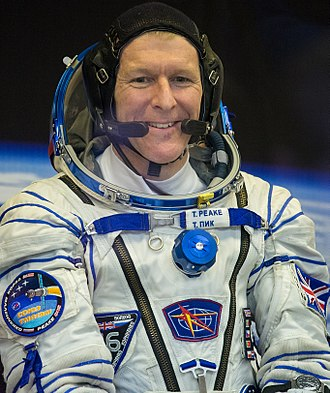 Tim Peake - Peake pictured in 2015 prior to the launch of Soyuz TMA-19M