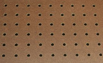 Hardboard - Perforated hardboard