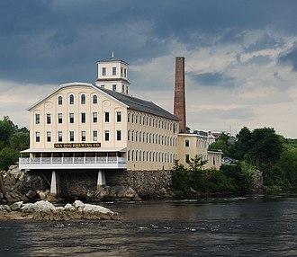 Topsham, Maine - Pejepscot Mill (1868)
