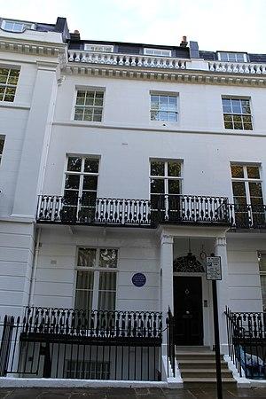 Nigel Playfair - Playfair's residence, 26 Pelham Crescent, London SW7