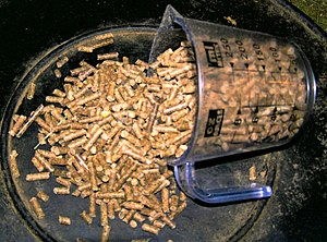 Animal feed - A pelleted ration designed for horses