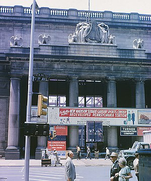 Pennsylvania Station (1910–1963) - Demolition of the station in 1966