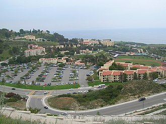 Pepperdine University - The lower campus in 2006