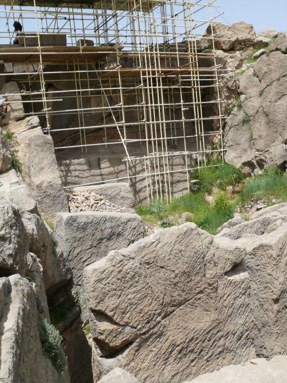 Persepolis Unachieved Tomb