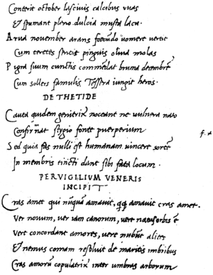 Jacopo Sannazaro - Sannazaro's humanist minuscule hand in a collection of Roman poems he copied in 1501–1503