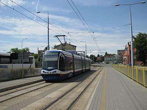 Trams in Bydgoszcz - Pesa 122N