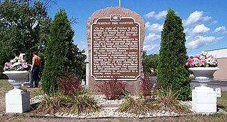 Peshtigo, Wisconsin - Peshtigo Fire Cemetery