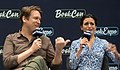 Pete Holmes and Jenny Slate at BookExpo (05583).jpg