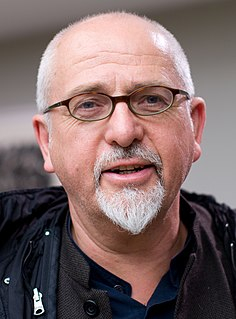 Peter Gabriel English singer-songwriter, record producer and humanitarian