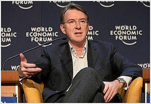 DAVOS/SWITZERLAND, 26JAN08 - Peter Mandelson, ...