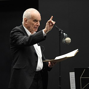 Peter Maxwell Davies - The conductor and composer in 2012
