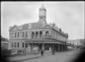 Petone Council Chambers and clock tower. ATLIB 224205.png