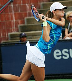 Petra Martić at the 2010 US Open 03.jpg