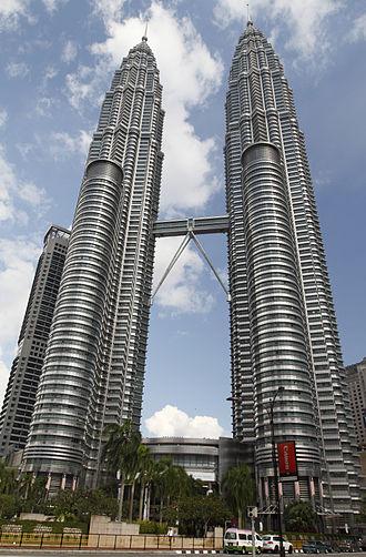Petronas Towers - Petronas Towers in April 2010