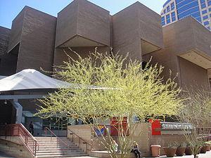 Phoenix Symphony Hall - Image: Phoenix Symphony Hall West Entrance 2010 02 16