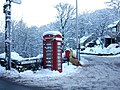 Phone Box on Ladcastle Road Dobcross - geograph.org.uk - 1638314.jpg