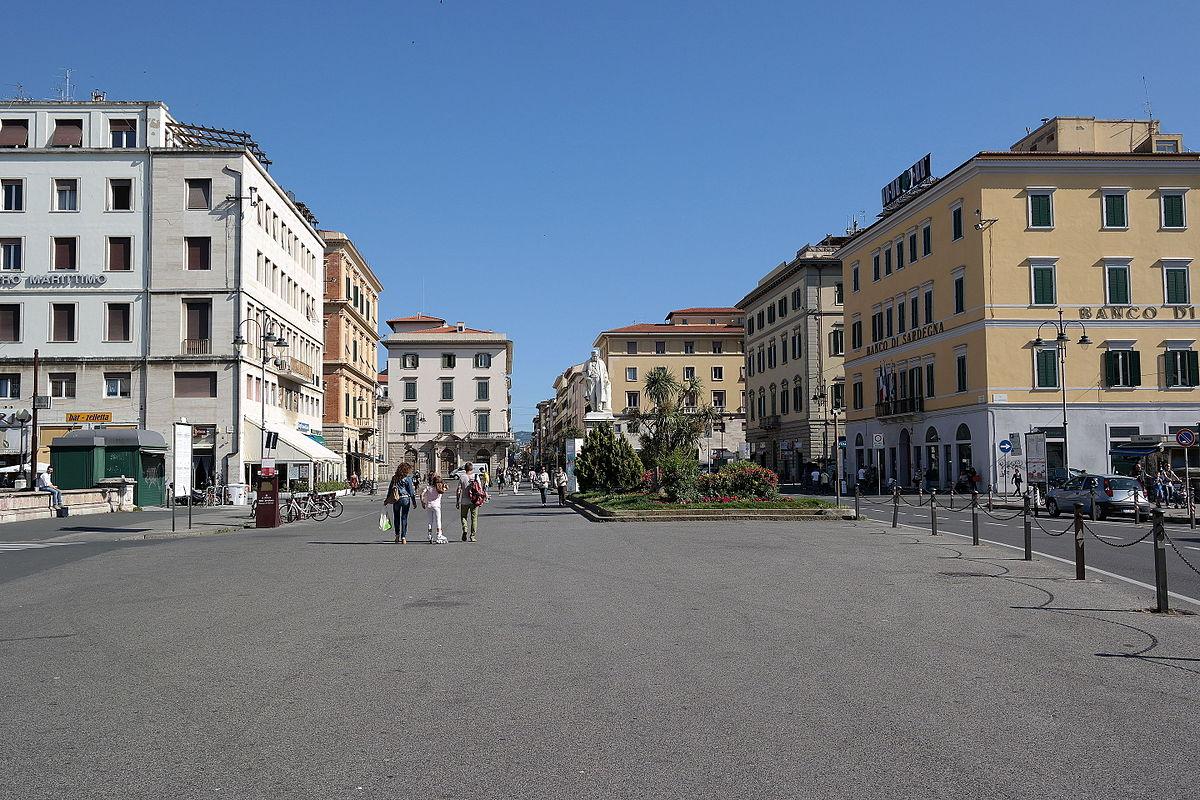 Piazza Cavour (Livorno) Wikipedia