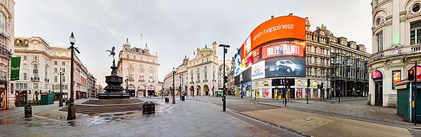 Picadilly Circus 2015