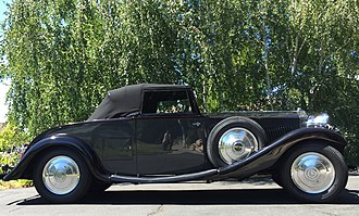 Carlton Carriage Company - Image: Picture of 1933 20.25 rolls royce drophead coupe