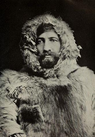 Frederick Cook - Cook in arctic gear