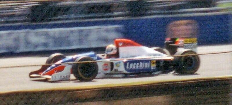 Pierluigi Martini 1994 Minardi
