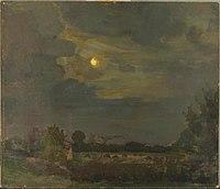 Piet Mondriaan - Evening sky with moon - 0334238 - Kunstmuseum Den Haag.jpg