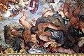 Pietro da cortona, Trionfo della Divina Provvidenza, 1632-39, minerva trionfa sui giganti 07.JPG