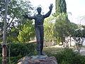 PikiWiki Israel 10057 statue of gad manela in kibbutz tel yitzhak.jpg