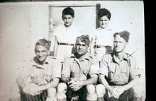 PikiWiki Israel 6052 Members of the kibutz as British Soldiers.JPG